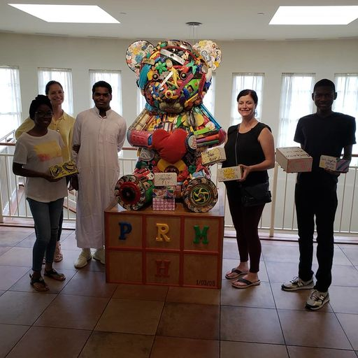 Mercy Students Donate 250 Sacred Scarves to Ronald McDonald House Summer Oncology Camp