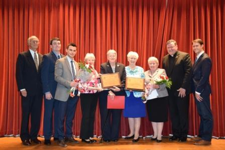 Sr. Rosemary and Sr. Susan awarded the Molyneux-Lilly Award