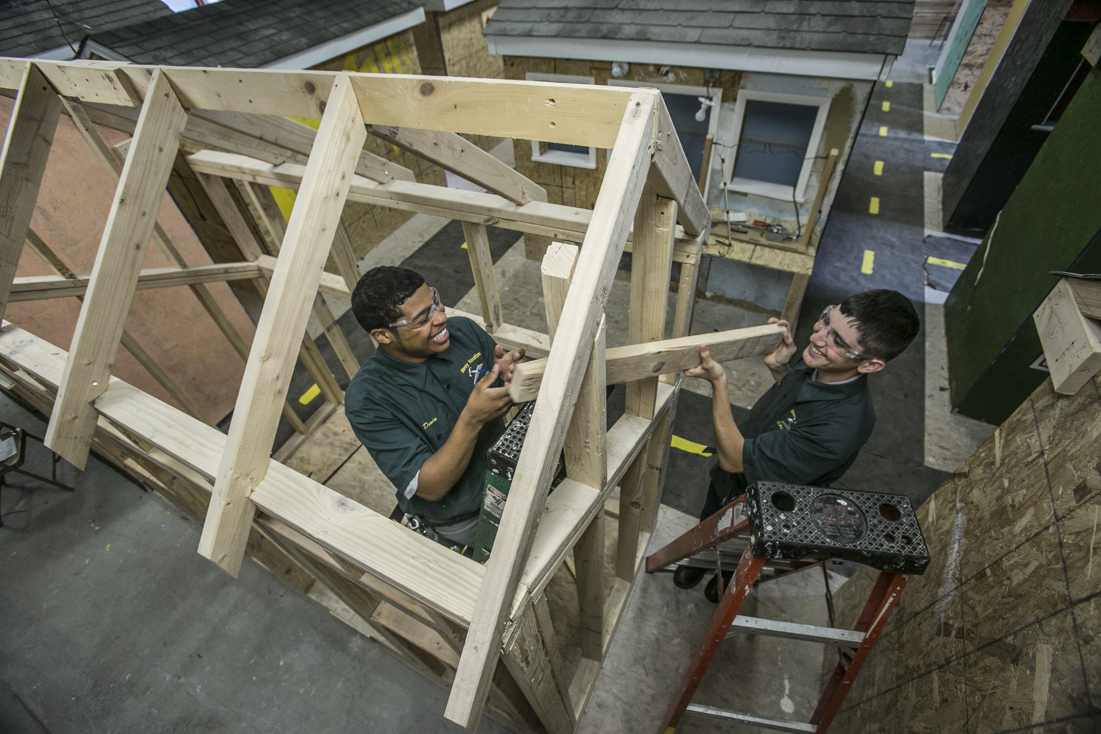 building trades mercy vocational high school certifications