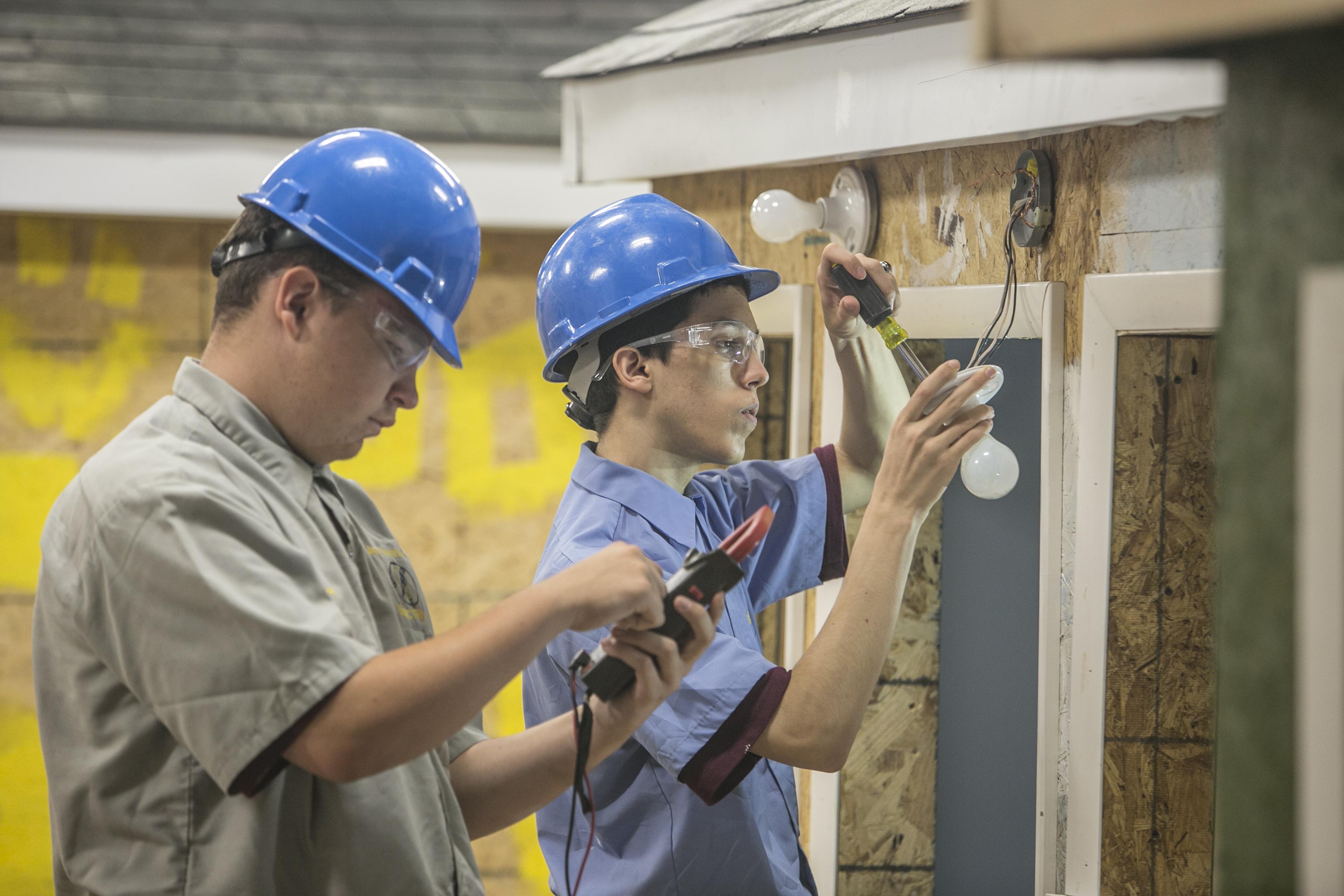 building trades mercy vocational high school